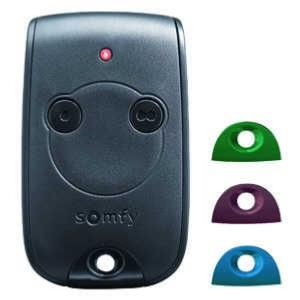 Emetteur portable SOMFY KEYTIS RTS, 2 canaux, 433,42 Mhz